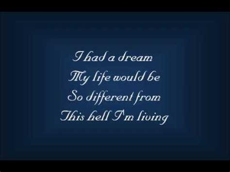 I Dreamed a Dream Lyrics   25th Anniversary Concert   YouTube