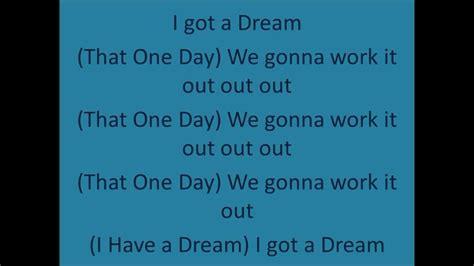 I HAVE A DREAM common ft. Will.I.Am LYRICS  Freedom ...