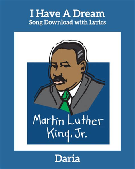 I Have a Dream Song Download with Lyrics: Songs for ...