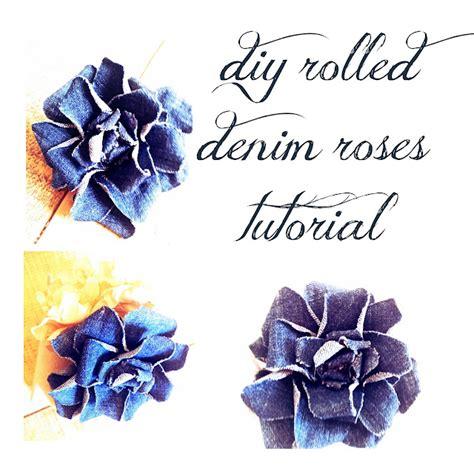 I Like Big Bows: Denim Roses