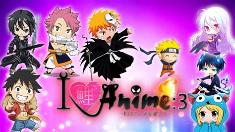 I LOVE ANIME   Las series que veo!! #1   YouTube