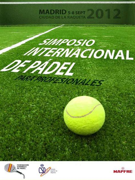 I Simposio Internacional De #Padel Para Profesionales ...