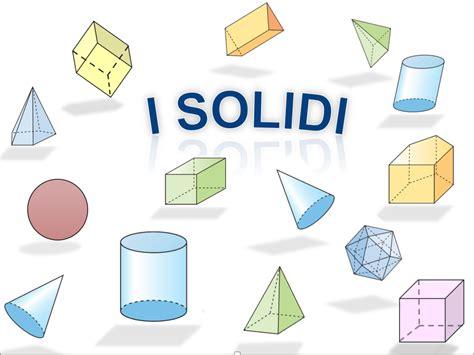 i solidi 2 | Lezioni di geometria, Attività di matematica ...