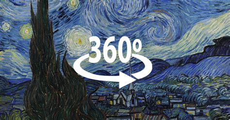 I ve Made Van Gogh s  The Starry Night  In 360° | Bored Panda