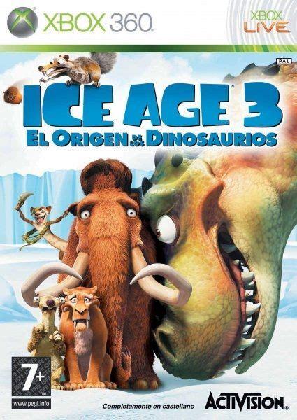 Ice Age 3 El Origen de los Dinosaurios para Xbox 360 ...