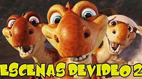 Ice Age 3 El Origen de los Dinosaurios   Todas las escenas ...