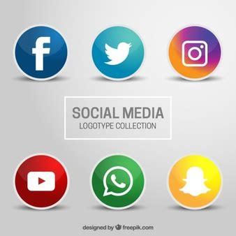 Icones Redes Sociais   Vetores e Fotos   Baixar gratis