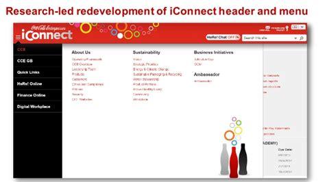 iConnect 2015 – the Coca Cola Enterprises intranet