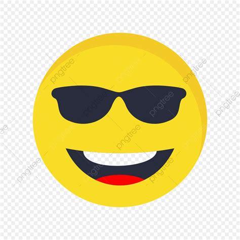 Icono De Vector De Emoji Cool, Frio, Emoji, Emoticon PNG y ...