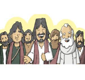Iconografía para niños: Los 12 apóstoles de Jesús | Reina ...