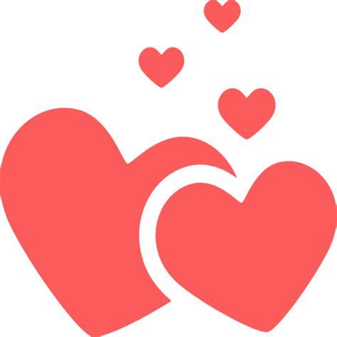 Iconos de Corazones, Cupidos y figuras de amor