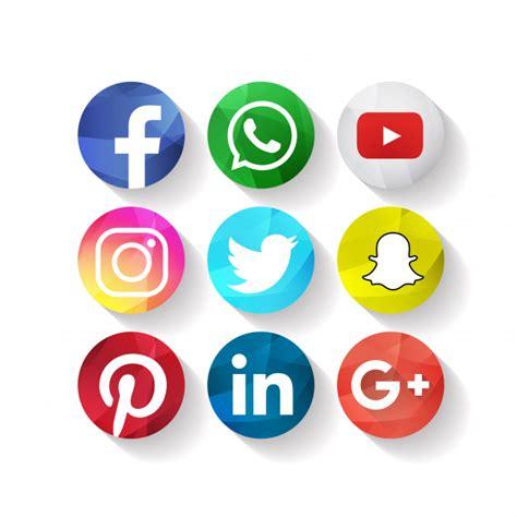 Iconos de medios sociales creativos facebook   Descargar ...