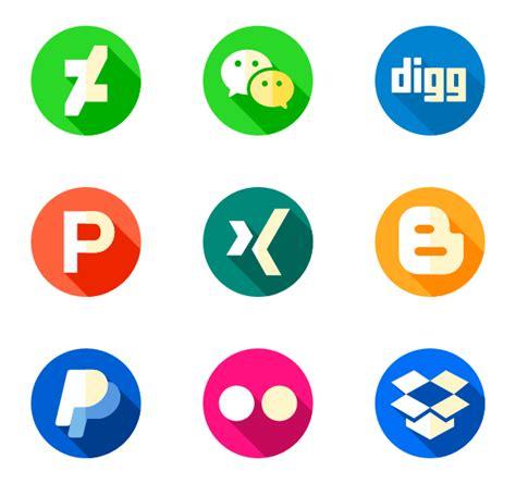 Iconos de Red social   10,337 iconos vectoriales gratis