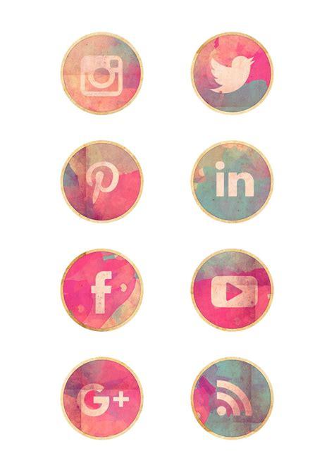Iconos de redes sociales gratis   Imprimibles y PNG gratis ...