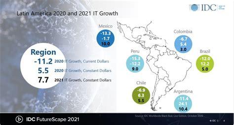 IDC: Las TI serán motor de la economía latinoamericana en 2021