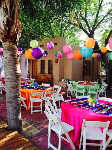 Idea para decorar al aire libre   fiesta mexicana en 2019 ...