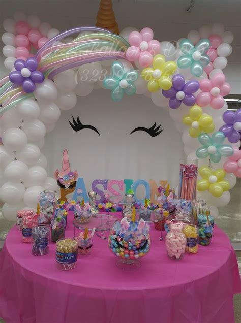 Ideal cumpleaños | Decoracion unicornio cumpleaños, Como ...