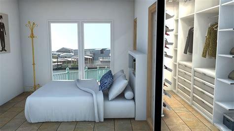 Ideal para dormitorios alargados; pon un vestidor tras un ...
