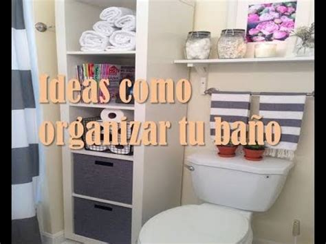 Ideas como organizar tu baño   YouTube