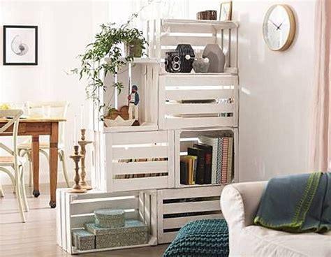 Ideas con cajas de madera   Mesa Madera