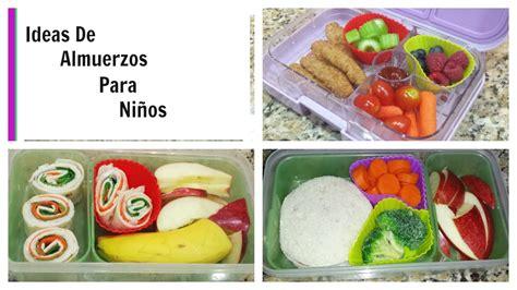 Ideas de Almuerzo para niños   YouTube