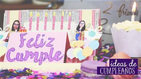 Ideas de cumpleaños: ¿Qué regalar? ️ Craftingeek   YouTube
