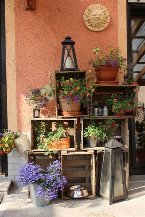 Ideas de decoracion con cajas de madera para fruta ...