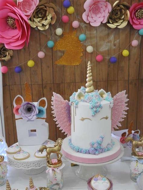 Ideas de decoración de unicornio para cumpleaños