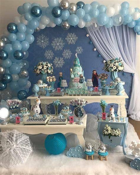 ideas de decoracion para fiesta de frozen | Ideas para las ...