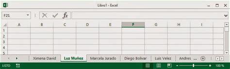 Ideas de Excel: Ordene alfabéticamente las hojas de un ...