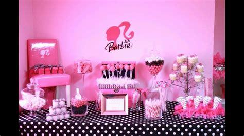 Ideas de fiestas de cumpleaños de barbie   YouTube