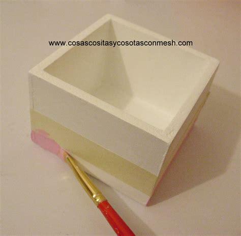 ***Ideas de Manualidades***: Cajas de madera navideñas