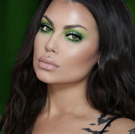 Ideas de Maquillaje Verde   Ideas de Maquillaje