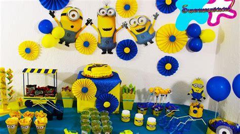 Ideas de MINIONS para fiesta//mesa de dulces ...