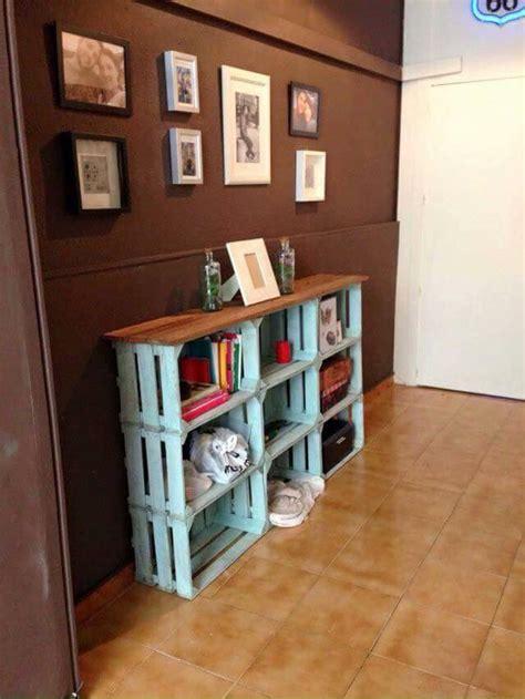 Ideas de muebles hechos con con cajas y cajones de madera ...