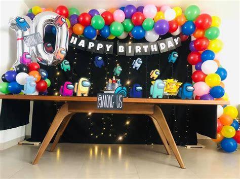 Ideas de pasteles y decoración fiesta Among Us   Todo Bonito