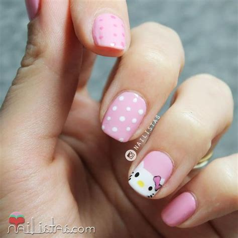 Ideas de uñas decoradas para niñas   Ideas imágenes