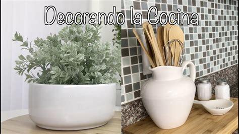 IDEAS DIY DECORACION PARA TU COCINA FÁCIL Y SIMPLE/DECORAR ...