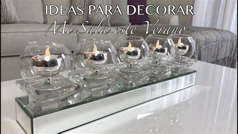 IDEAS DIY PARA DECORAR TU SALA ESTE VERANO/DECORACION ...