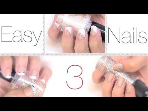 Ideas fáciles y elegantes para pintar las uñas   YouTube