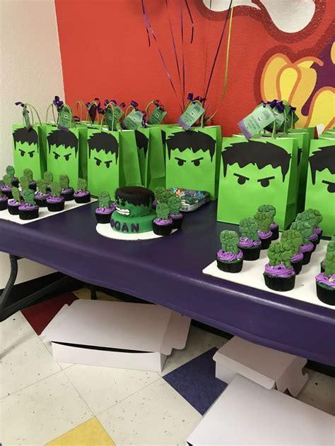Ideas increíbles para fiestas de Hulk | Superhero Party ...