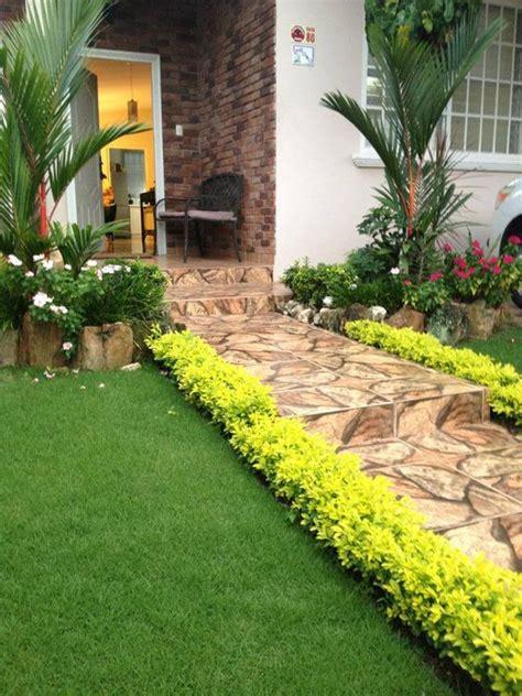 ideas jardines decorar entradas  27  | Decoracion de ...