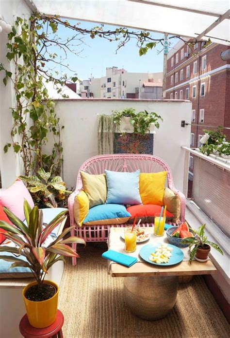 Ideas para aprovechar el espacio en balcones pequeños ...