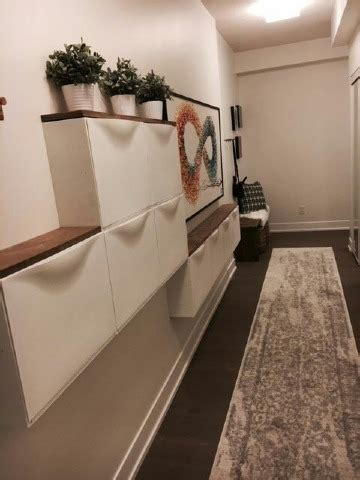 Ideas para crear zapateros estrechos para pasillos