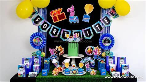 Ideas para cumpleaños de Fortnite   YouTube