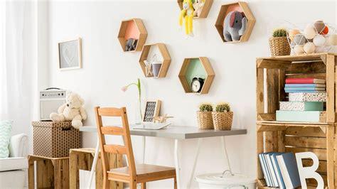 Ideas para decorar con cajas de madera   Hogarmania