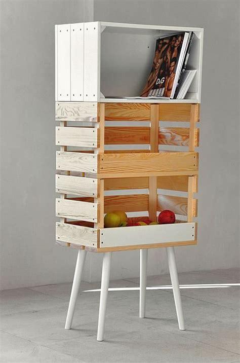 Ideas para decorar con cajas y cajones de madera