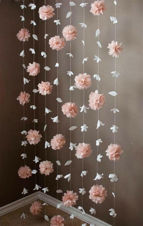 Ideas para decorar con flores de papel ...