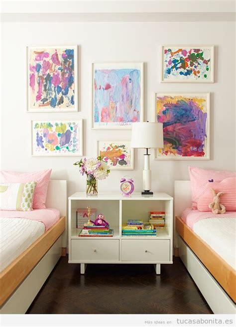 Ideas para decorar dormitorios infantiles individuales y ...