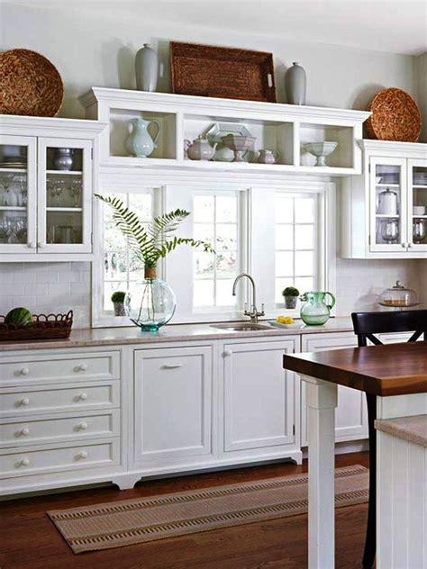 Ideas para decorar encima de los gabinetes de la cocina ...